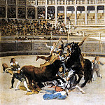 Francisco Jose De Goya y Lucientes - Picador Caught by the Bull