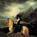 Portrait of Maria Teresa de Vallabriga on Horseback, De Schryver Louis Marie