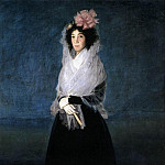 Francisco Jose De Goya y Lucientes - The Marquesa de la Solana