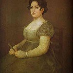 Francisco Jose De Goya y Lucientes - The Woman with a Fan