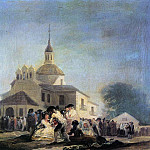 Francisco Jose De Goya y Lucientes - Pilgrimage to the Church of San Isidro