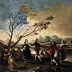Francisco Jose De Goya y Lucientes - Dance of the Majos at the Banks of Manzanares