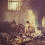 Francisco Jose De Goya y Lucientes - The Madhouse