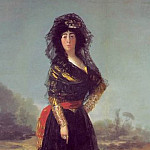 Francisco Jose De Goya y Lucientes - Duchess of Alba, 1797, 210.2x149.3 cm, Hispanic Society