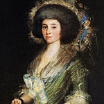 Francisco Jose De Goya y Lucientes - Portrait of the Wife of Juan Agustin Cean Bermudez