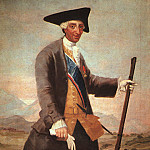 Francisco Jose De Goya y Lucientes - Charles III, 1786-88, oil on canvas, Museo del Prado, M