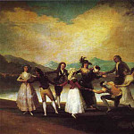 Francisco Jose De Goya y Lucientes - Blind Mans Bluff