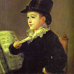 Francisco Jose De Goya y Lucientes - Portrait of Mariano Goya, the Artists Grandson