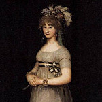 Francisco Jose De Goya y Lucientes - POrtrait of the Countess of Chincon