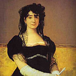 Francisco Jose De Goya y Lucientes - Portrait of Antonia Zarate