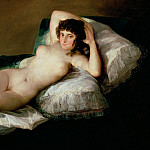Francisco Jose De Goya y Lucientes - Goya - The Nude Maja