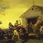 Francisco Jose De Goya y Lucientes - Fight at the Cock Inn