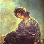 Francisco Jose De Goya y Lucientes - The Milkmaid of Bordeaux