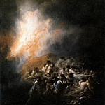 Francisco Jose De Goya y Lucientes - Fire at Night