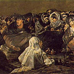 Francisco Jose De Goya y Lucientes - The Great He-Goat or Witches Sabbath, ca 1821-23, 140x4