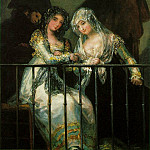 Francisco Jose De Goya y Lucientes - group-balcony