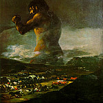 Francisco Jose De Goya y Lucientes - The Colossus, 1808-12, Prado