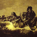 Francisco Jose De Goya y Lucientes - Atropos (Atropos or Fate)