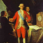 Francisco Jose De Goya y Lucientes - 1783 The Count of Floridablanca