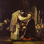 Francisco Jose De Goya y Lucientes - The Last Communion of Saint Jose de Calasanz
