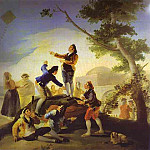 Francisco Jose De Goya y Lucientes - La cometa (The Kite)