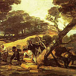 Francisco Jose De Goya y Lucientes - Powder Factory in the Sierra