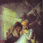 Francisco Jose De Goya y Lucientes - Time of the Old Women