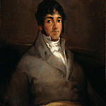 Francisco Jose De Goya y Lucientes - Portrait of the Actor Isidro Meiquez