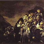 Francisco Jose De Goya y Lucientes - 1820-23 The Pilgrimage to San Isadore