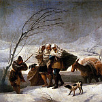 Francisco Jose De Goya y Lucientes - The Snowstorm