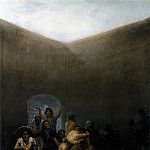 Francisco Jose De Goya y Lucientes - The Yard of a Madhouse