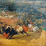 Heinrich Vogeler - The Bullfight