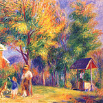 William James Glackens - home in new hampshire c1919