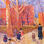 William James Glackens - glackens 29 washington square c1912