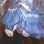 William James Glackens - dancer in blue c1905