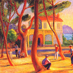 William James Glackens - bowlers (la ciotat) 1930