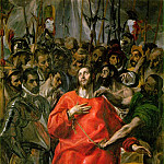 The spoliation, El Greco