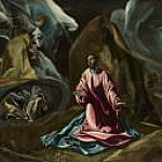 The Agony in the Garden of Gethsemane [Studio of], El Greco