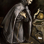 El Greco - Saint Francis in Prayer