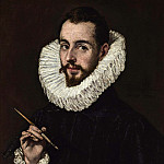 El Greco - Portrait of the Artist's Son Jorge Manuel