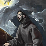 El Greco - The Stigmatization of St. Francis