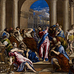 Christ Driving the Money Changers from the Temple, El Greco