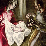 The Nativity, El Greco