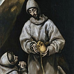 El Greco - Saint Francis in Meditation [Workshop of]