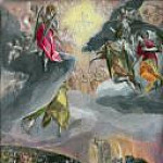 El Greco - The Adoration of the Name of Jesus (The Dream of Felipe II)