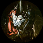 Birth of Christ, El Greco