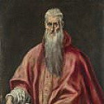 Saint Jerome as Cardinal, El Greco