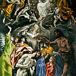 Baptism of Christ, El Greco