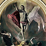 Resurrection, El Greco