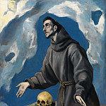 Saint Francis Receiving the Stigmata, El Greco